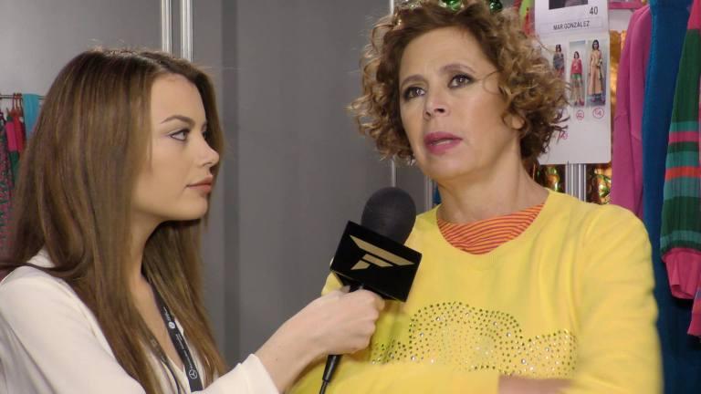 Entrevista Odei Cachero MFW -Agatha Ruiz de la Prada